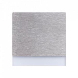 Aplica argintie din aluminiu si plastic Berg L Milagro Lighting