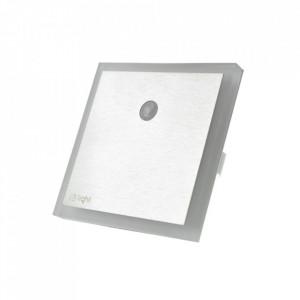 Aplica argintie din aluminiu si plastic Elain L Milagro Lighting