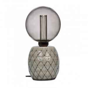 Baza veioza crem din ceramica 12 cm Earth Opjet Paris