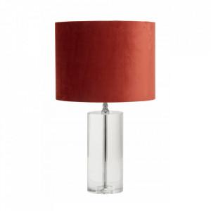 Baza veioza transparenta din sticla 38,5 cm Clear Lamp Nordal