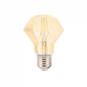 Bec cu filament LED E27 4W Diamond Milagro Lighting