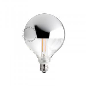 Bec dimabil LED E27 4W Fedora Silver Ali Filament Zangra