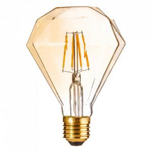 Bec LED E27, 4W Gold Prism Ixia
