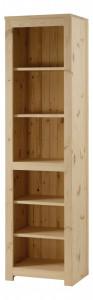 Biblioteca maro din lemn de pin 196 cm Couleurs des Alpes Zago