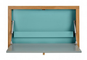 Birou din lemn si MDF pentru perete 8x74 cm Brenta Woodman