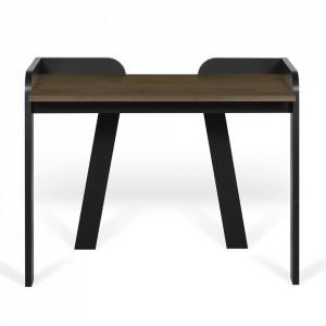 Birou maro inchis/negru din lemn 58x105 cm Maya TemaHome
