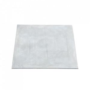 Blat pentru masa dining gri din ciment 60x60 cm Concrete House Doctor