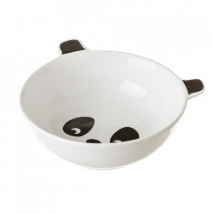 Bol alb/negru din ceramica 450 ml Pandy Unimasa