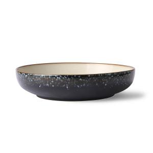 Bol albastru/crem din ceramica 26 cm Galaxy HK Living