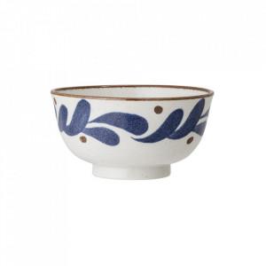 Bol albastru din portelan 1L Camellia Creative Collection