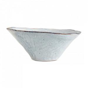 Bol albastru gheata din ceramica 29 cm Soisalo Nordal