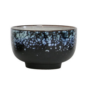Bol din ceramica neagra 70's Large HK Living