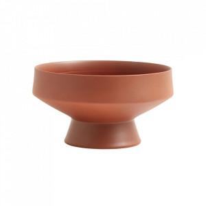 Bol maro teracota din ceramica 25,5 cm Yuda Bowl Nordal