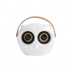 Boxa wireless alba aOWL White Kreafunk