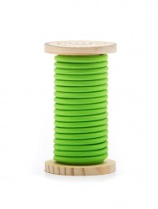 Cablu verde din PVC si bumbac 5 m Philo Green Seletti