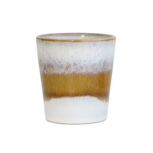 Cana ceramica alba 200 ml 70's HK Living