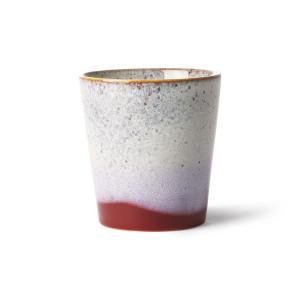 Cana multicolora din ceramica 180 ml Frost HK Living