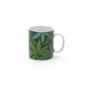 Cana multicolora din portelan 8x10 cm Weed Seletti