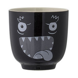 Cana neagra din ceramica Monster Bloomingville