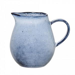 Carafa albastra din ceramica 300 ml Bloomingville