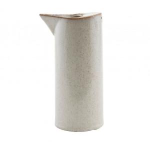 Carafa crem din ceramica 8x18 cm Ivy Big Ferm Living