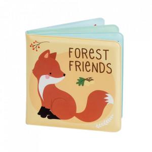 Carte cu imagini multicolora din EVA Forest Friends A Little Lovely Company