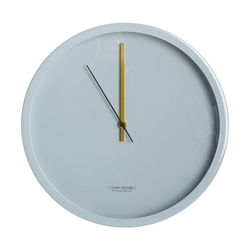 Ceas rotund gri 30 cm Clock Couture House Doctor