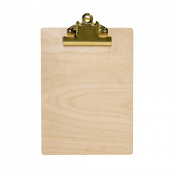 Clipboard maro din lemn 23x32 cm Nature Bloomingville