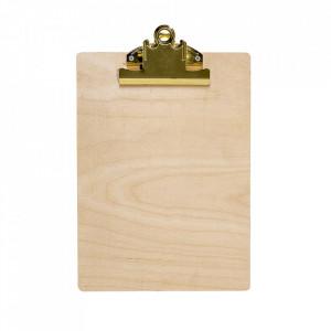 Clipboard maro din lemn 23x32 cm Nature Bloomingville