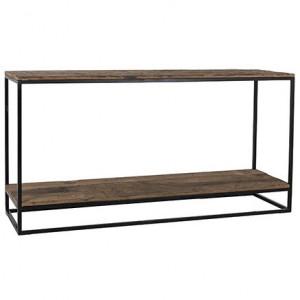 Consola maro/neagra din lemn si fier 161 cm Raffles Richmond Interiors
