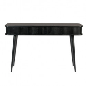 Consola neagra din lemn si MDF 120 cm Barbier Zuiver