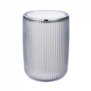Cos de gunoi alb/argintiu din plastic 2 L Agropoli Wenko