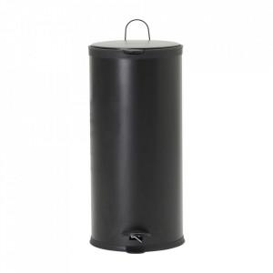 Cos de gunoi negru din fier 30 L Eda House Doctor