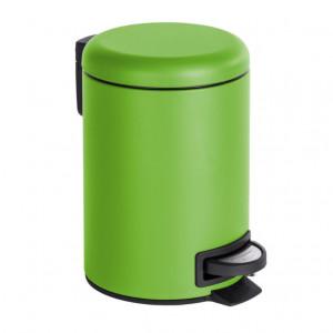 Cos de gunoi verde din otel si polipropilena 3 L Leman Wenko