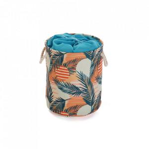 Cos de rufe multicolor din poliester 35x40 cm Saona Laundry Versa Home