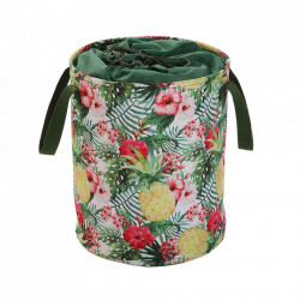 Cos de rufe multicolor din textil 33x50 cm Ayanna Versa Home