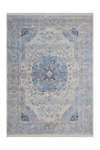 Covor albastru din poliester Vintage Design Lalee (diverse dimensiuni)
