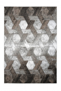 Covor bej/gri din polipropilena Swing Platin Design Lalee (diverse dimensiuni)