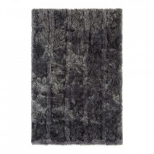 Covor din blana artificiala Feel Grey Ligne Pure (diverse dimensiuni)