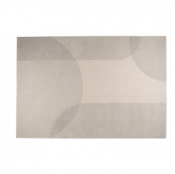 Covor din lana gri/crem 200x300 cm Dream Natural/Grey Zuiver