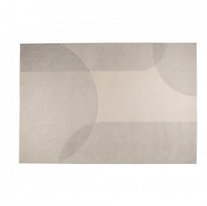 Covor din lana gri/crem 200x300 cm Dream Natural/Grey Zuiver
