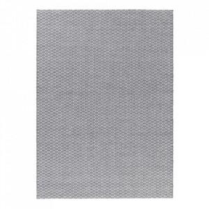 Covor din lana si viscoza Rythm Grey Ligne Pure (diverse dimensiuni)