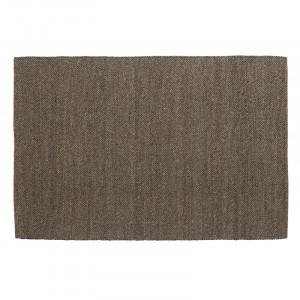 Covor gri/maro din lana si poliester 160x240 cm Fia Nordal