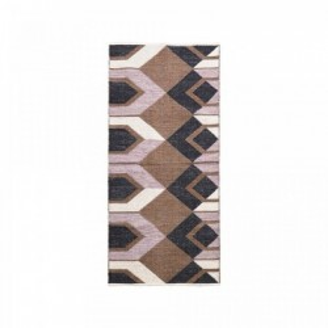 Covor multicolor din bumbac 90x213 cm Art House Doctor