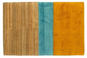 Covor multicolor din lana 200x300 cm Aerial Tulip Pols Potten