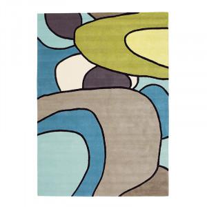 Covor multicolor din lana si viscoza Estella Comic Brink & Campman (diverse dimensiuni)