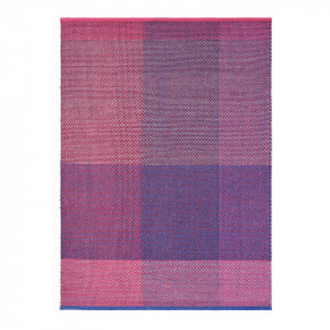 Covor multicolor din lana TB Check-Burgund Brink & Campman (diverse dimensiuni)