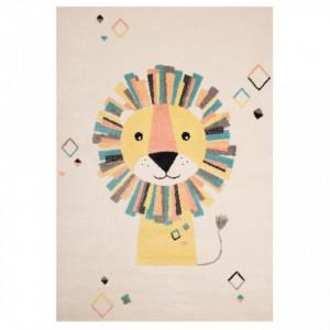 Covor multicolor pentru copii 120x170 cm Lion Stan Zala Living