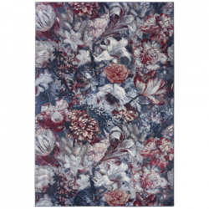 Covor rosu/albastru din polipropilena Romance Flower Symphony Mint Rugs (diverse dimensiuni)