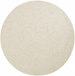 Covor rotund crem Wolly BT Carpets